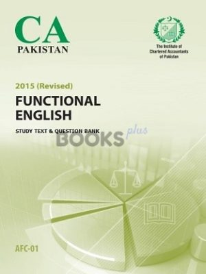 CA AFC 1 Functional English Study Text Question Bank 2015 ICAP
