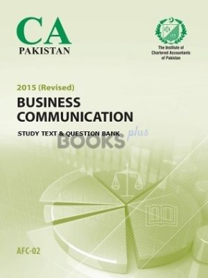 CA AFC 2 Business Communication Study Text Question Bank 2015 ICAP