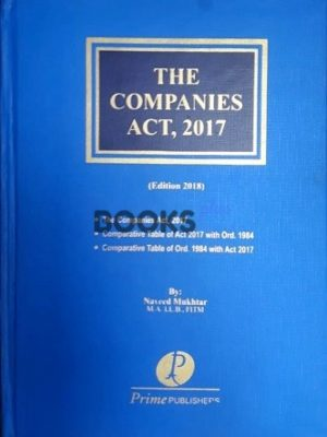 The Companies Act 2017 2018 naveed mukhtar