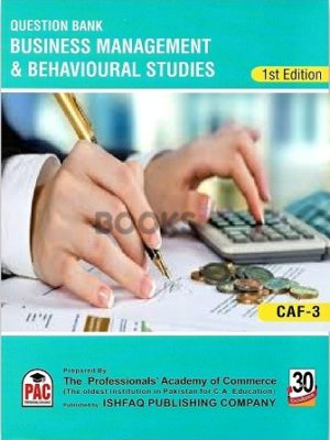 CA CAF 4 Business Management & Behavioural Studies Qbank PAC