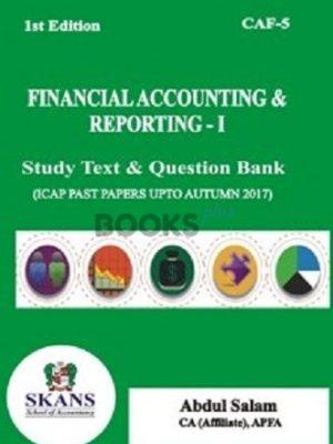 CA CAF 5 FAR 1 2018 Edition Study Text & Question Bank SKANS