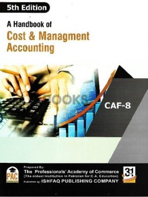 CA CAF 8 A Handbook of Cost & Management Accounting 5th Edition