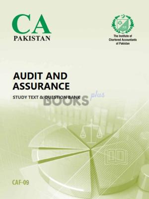 ca caf 9 audit and assurance ICAP