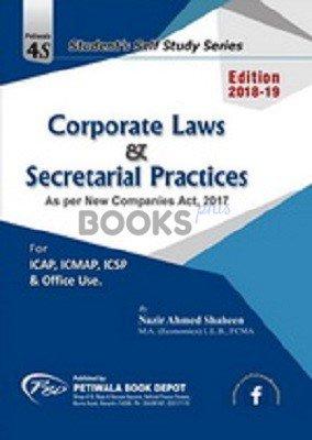 Corporate Law & Secretarial Practices 2018 19 nazir a shaheen