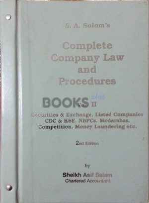 S A Salams Complete Company Law Volume II