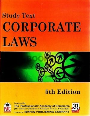 CA CFAP 2 Corporate Laws 5th Edition 2018 PAC