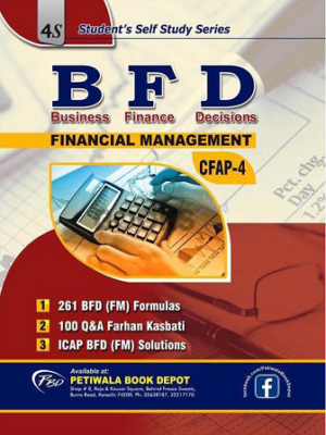 CA CFAP 4 Business Finance Decisions BFD Solved Papers