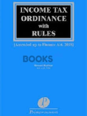 Income Tax Ordinance & Rules 2018 naveed mukhtar