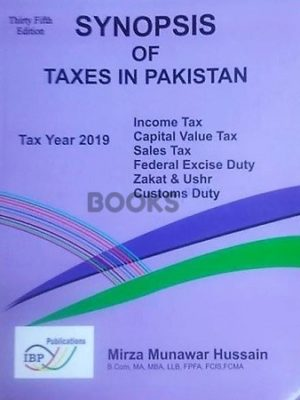 Synopsis of Taxes in Pakistan TY 2019