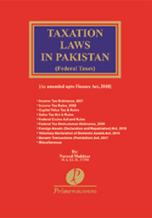 Taxation Laws in Pakistan 2018 2019 naveed mukhtar