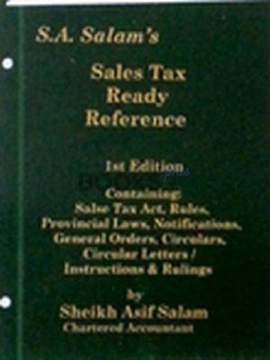 SA Salams Sales Tax Ready Reference 2018