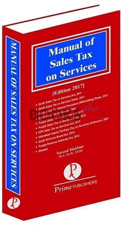 Manual of Sales Tax on Services naveed mukhtar