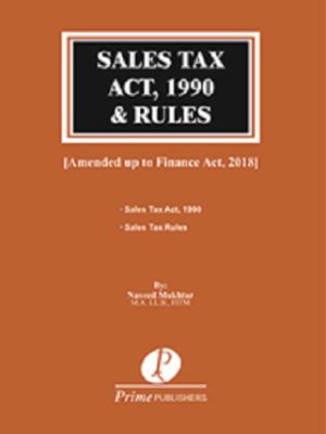 Sales Tax Act 1990 with Sales Tax Rules naveed mukhtar
