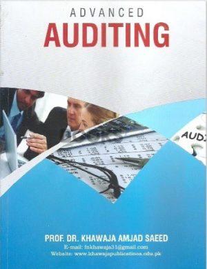 Advanced Auditing 2016 khawaja amjad saeed