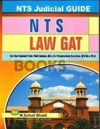 NTS LAW GAT by Sohail Bhatt