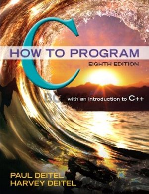 How To Program 8th Edition