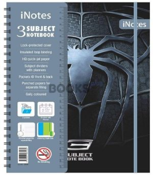 inotes 3 Subject spider