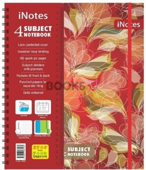 inotes 4 Subject floral