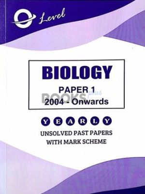 O Level Biology Paper 1 Multiple Choice Unsolved Past Papers 2004 Onwards