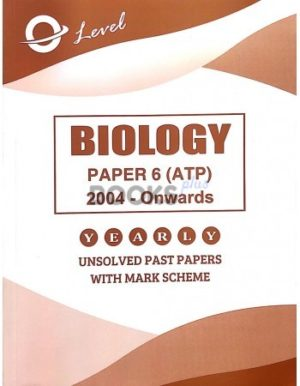 O Level Biology Paper 6 Alterative to Practical Unsolved Past Papers 2004 Onwards