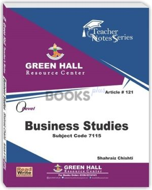 O Level Business Studies Notes shahraiz chisti