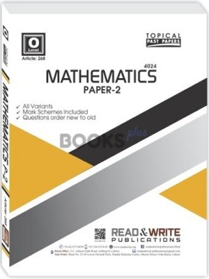 Mathematics O Level P-2 Topical Past Papers