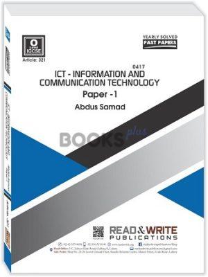 O Level ICT Paper 1
