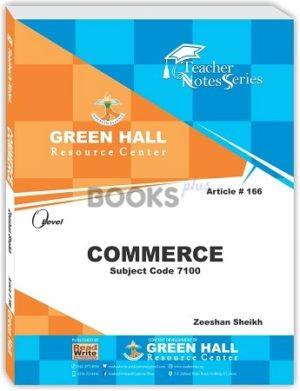 O Level Commerce Notes