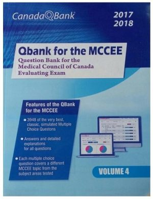Canada Qbank for MCCEE 2017 18 5 Volumes