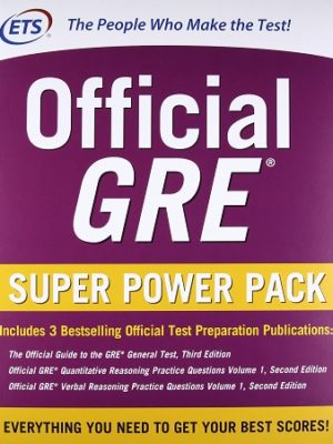 Official GRE Super Power Pack ETS Pakistan