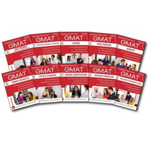 Complete Manhattan Prep GMAT Strategy Guide Set 6th Edition 10 books