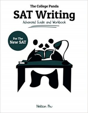 college panda writing SAT