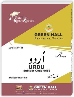 Urdu A Level Notes