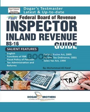 Inspector Inland Revenue Guide BS 16 FBR