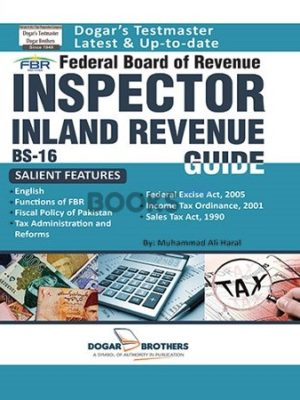 Inspector Inland Revenue Guide BS 16 FBR