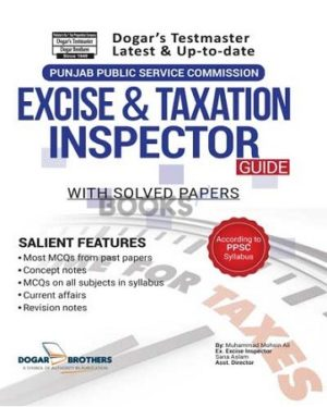 Excise & Taxation Inspector Guide With Solved Papers