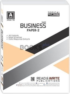 Business A Level Paper 2 Topical Read & Write