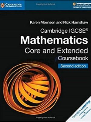 Cambridge IGCSE Mathematics Core and Extended Coursebook with CD-ROM 2nd Edition