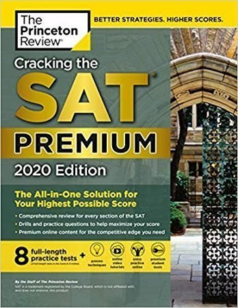 Cracking the SAT premium 2020 Edition BooksPlus