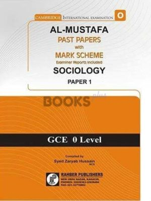 Al Mustafa O Level Sociology P1 Unsolved Upto June 2018