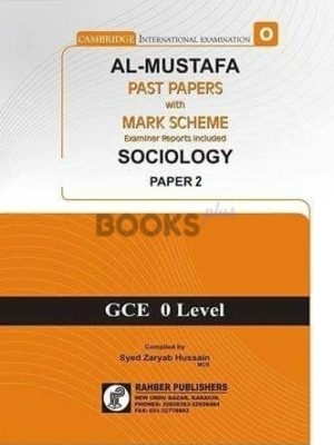 Al Mustafa O Level Sociology P2 Unsolved Upto June 2018