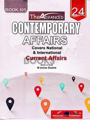 Contemporary Affairs Book 105 Advanced Publishers