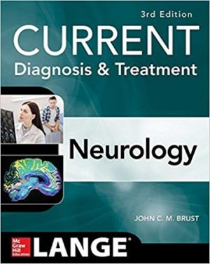 Current Diagnosis and Treatment Neurology Lange 3rd Edition