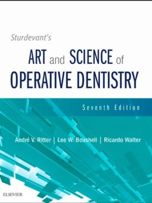 Sturdevants Art and Science of Operative Dentistry 7th Edition