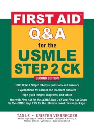 First Aid Q&A for the USMLE Step 2 CK 2nd Edition