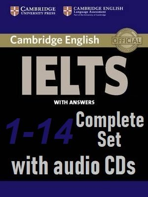 Cambridge English IELTS 1 to 14 with Answersand-Audio CD