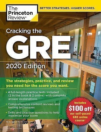 Princeton Review Cracking the GRE 2020