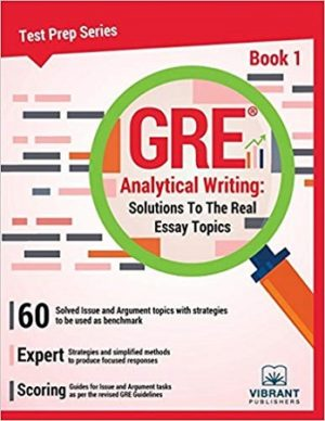 GRE Analytical Writing 2019 Edition Book 1