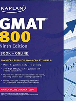 Kaplan GMAT 800 9th Edition