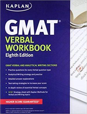 Kaplan GMAT Verbal Workbook 8th Edition